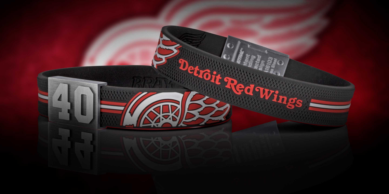 Detroit Red Wings bracelet number 40