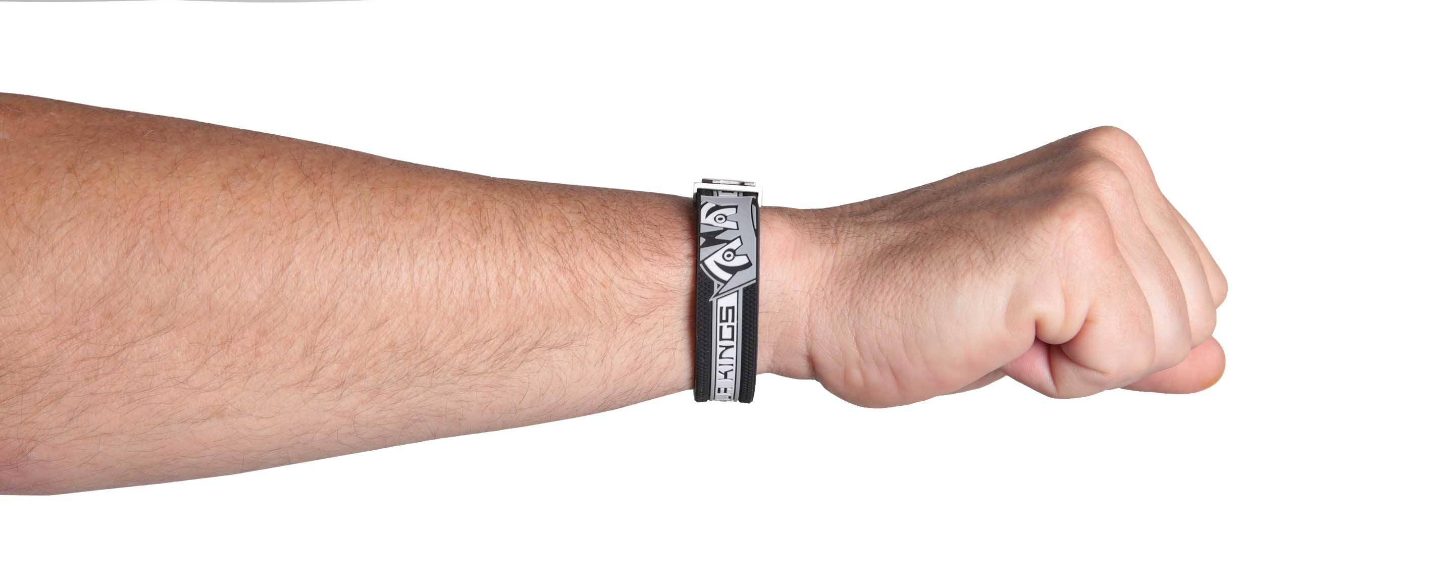 LA Kings bracelet fist