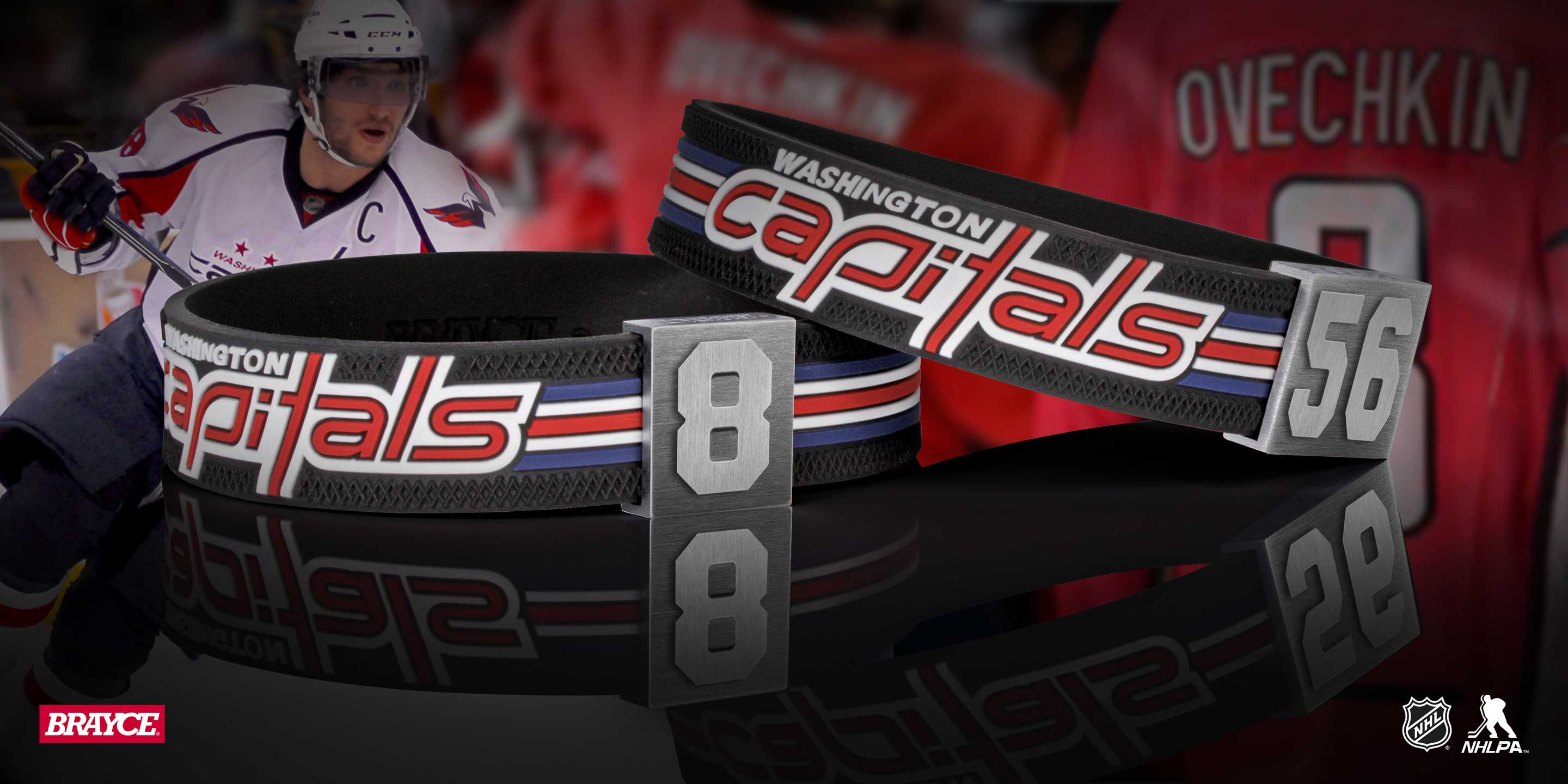 Washington Capitals Armband Nummer 8