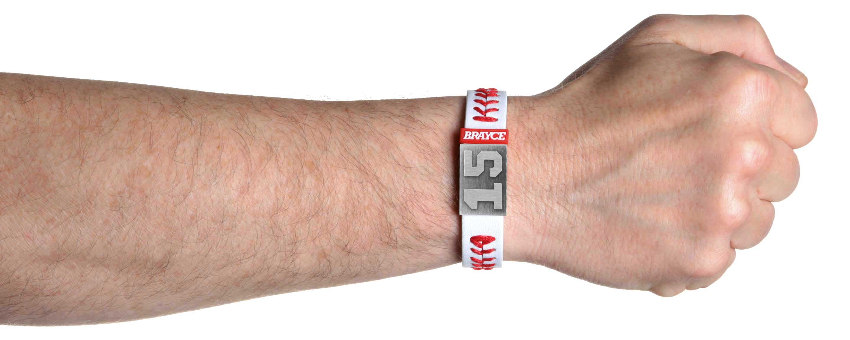 baseball bracelet player number 15