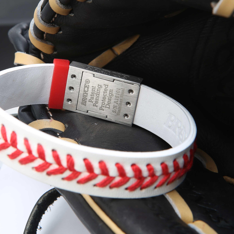 baseball bracelet product view